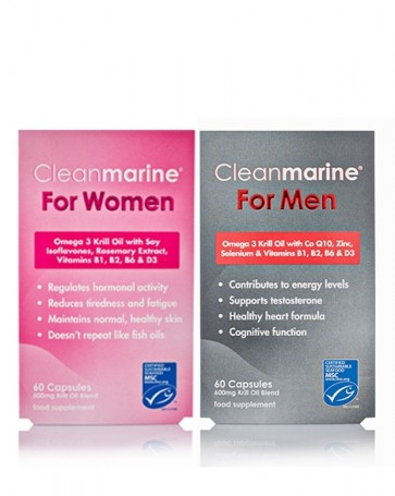 Cleanmarine® For Women & For Men Twin-pack